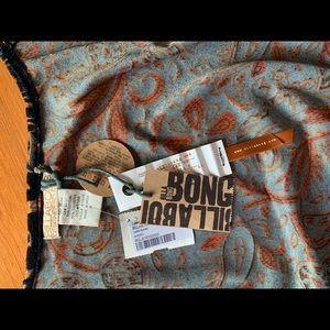 Free People Tops - Velvet Bohemian Tie top